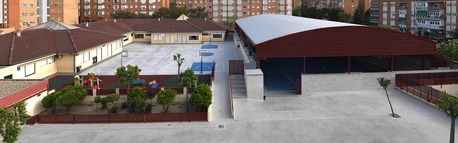 Vista del Club Deportivo Las Rosas