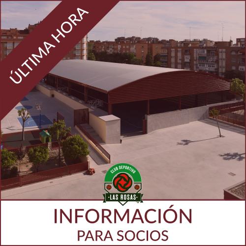 Protocolo de actuación COVID 19 CD Las Rosas 2020.21