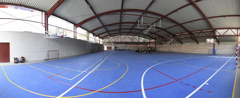 PABELLÓN DEPORTIVO - Club Deportivo Las Rosas